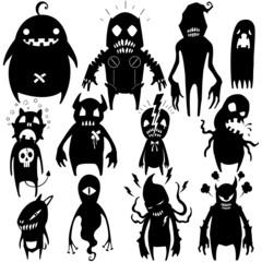 Little Monsters - set 02