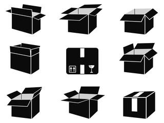 shipping box icons