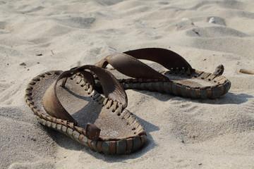 сланцы на песке