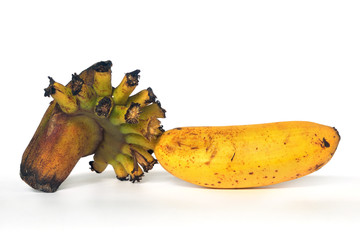 A yellow banana.