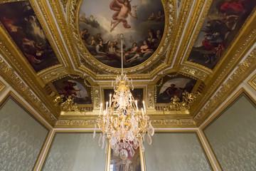 フランス ベルサイユ宮殿 天井壁画-898 [Château de Versailles]