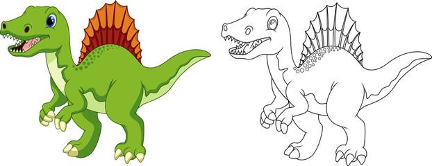 spinosaurus cartoon