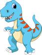 Cute Tyrannosaurus cartoon - 68402704