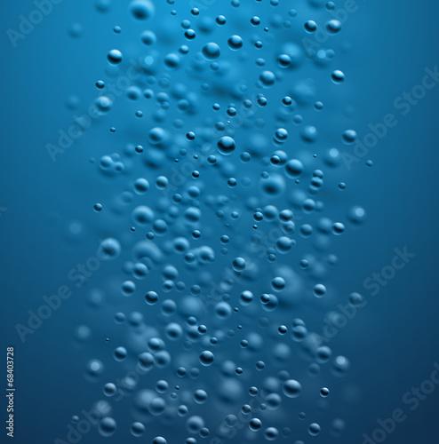 Fototapeta Water Bubbles Background