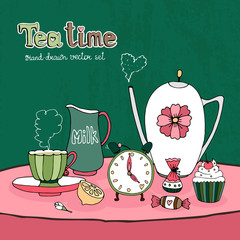 Teatime Party Card