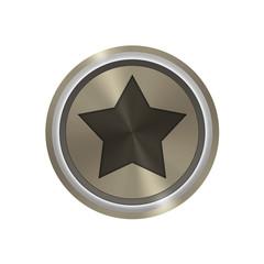 Icone bronze : star