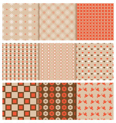 stylish seamless patterns