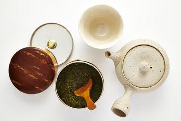 茶器とお茶