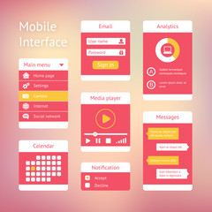 interface elements