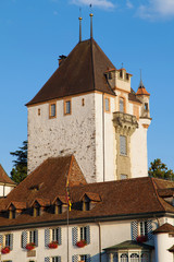 Turret of Oberhofen Castle