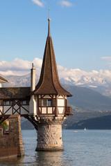 Roman tower of Oberhofen Castle