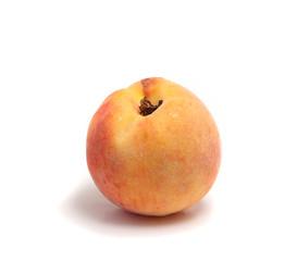 ripe tasty peach and beige