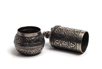 manual pepper mill with Turkish patterns