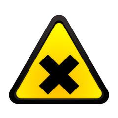 Warnhinweis gesunheitsschädliche oder reizende Stoffe