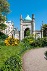 The Royal Pavilion Gardens, Brighton, UK