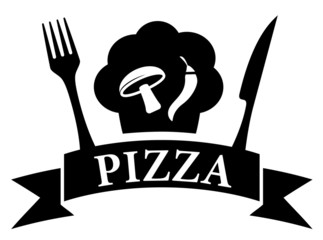 isolated icon - pizza symbol