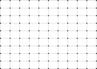 dot black chess background pattern