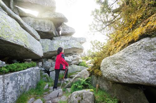 Light between Rocks