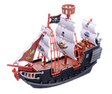 Fototapety Pirate ship on white background