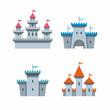 castle icons - 68411140