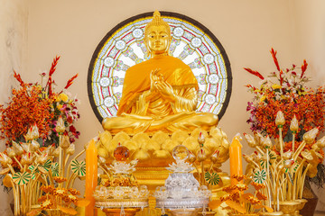 Buddha image, Phasornkaew Temple ,that place for meditation that