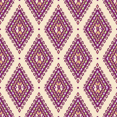 purple and green rhombuses