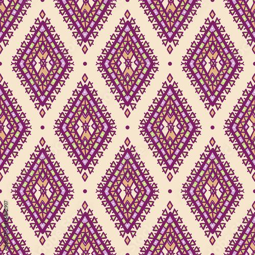 purple and green rhombuses - 68412907