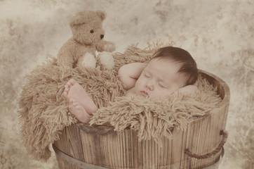 Cooles Baby in der Wanne