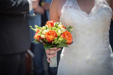 wedding - bridal wreath