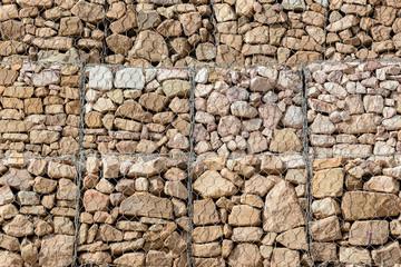 Stone in mesh