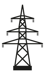 Strommast Mittel