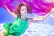 canvas print picture - Underwater (Mel)