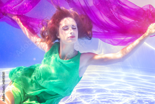 canvas print picture Underwater (Mel)