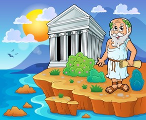 Greek theme image 2