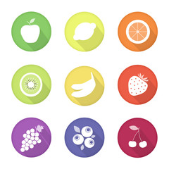 fruit web icons