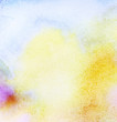 Abstract colorful light watercolor background.