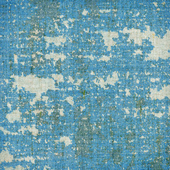 Abstract blue grunge stained texture