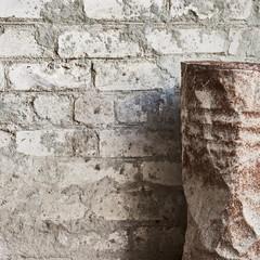 grunge wall, old barrel background