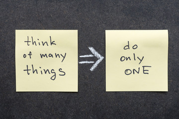 think and do