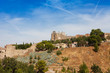 Panoramic view to Toledo, Spain
