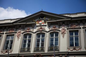 Detail Fasade Palais Neuhaus-Preysing in München