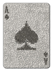 Ace of Spades Mosaic