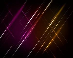 световые  линии  цветные
