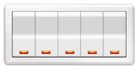 Wand - Lichtschalter