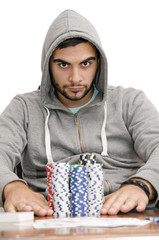 poker all in hood