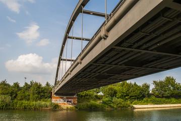 Bridge over the channel