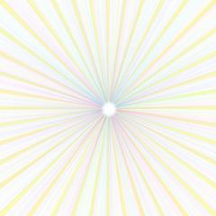 Hintergrund Strahlenmuster in pastell