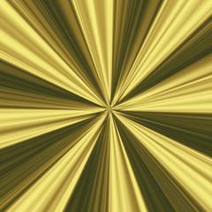 Hintergrund Strahlenmuster in verschiedenen Goldtönen
