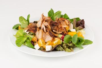 Gyros mit Salat