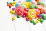 Fototapeta colorful candy